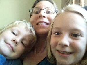 Kids love selfies